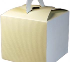 Darčekové Mini Krabičky - Slonovinová