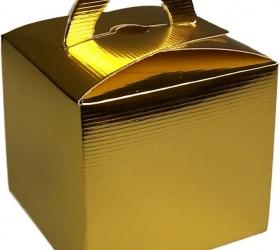 Darčekové Mini Krabičky - Zlaté