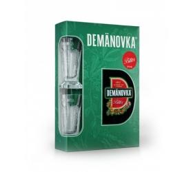Darčekové balenie Demänovka Bylinná Horká +2 poháre 0,7l (38%)