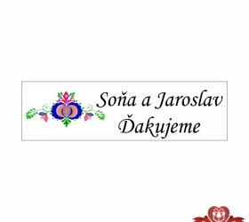 Svadobné žuvačky pre potešenie svadobných hostí SZ104