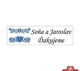 Svadobné žuvačky pre potešenie svadobných hostí SZ105