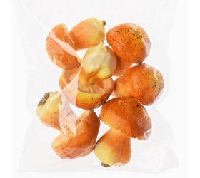 Huby oranž. 4,5-5cm s/6