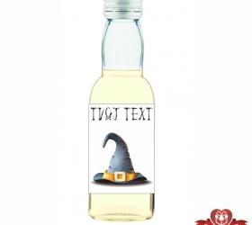 Halloweenska mini fľaštička, motív H027