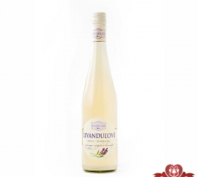Levanduľové víno biele