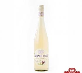 Foto Levanduľové víno biele