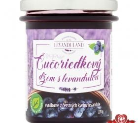 Čučoriedkový džem s levanduľou