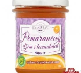 Pomarančový džem s levanduľou