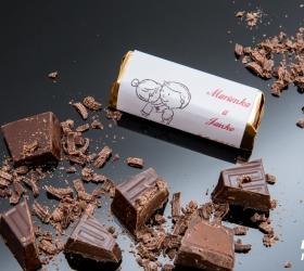 Svadobná čokoládka pre hostí - stredná SC17