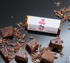 Svadobná čokoládka pre hostí - stredná SC19