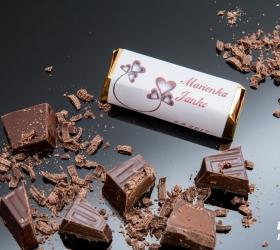 Svadobná čokoládka pre hostí - stredná SC25