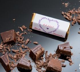 Svadobná čokoládka pre hostí - stredná SC27