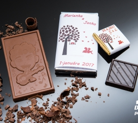 Svadobná čokoládka malá SCM27