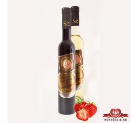 0,5 L Darčekové víno - Kovová Etiketa Jahodové víno