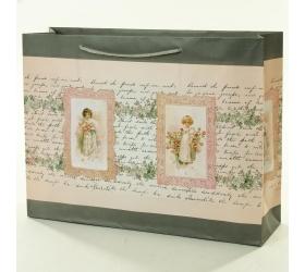 Darčeková taška dievčatá 37,5x10,6x28,5cm