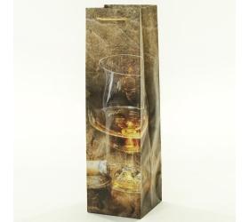 Darčeková taška koňak+cigára 10x10x35cm