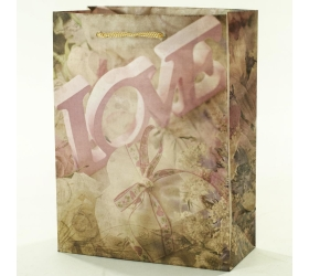 Darčeková taška love 8x18x23cm