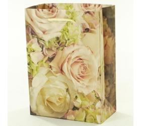 Darčeková taška ruže 11,5x6x16cm