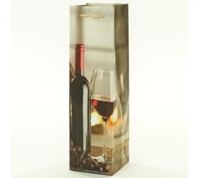 Darčeková taška víno 10x10x35cm
