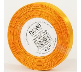 Saten stuha 10mm/15m oranžová farba 017