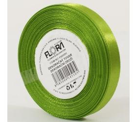 Saten stuha 10mm/15m zelená farba 184