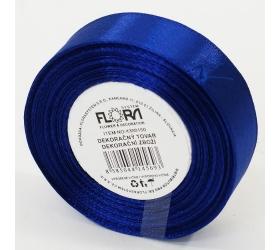 Saten stuha 20mm/15m modrá tm. farba 153
