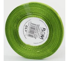 Saten stuha 6mm/20m zelená farba 184
