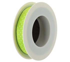 Stuha bodky sv.zelená 10mmx10m