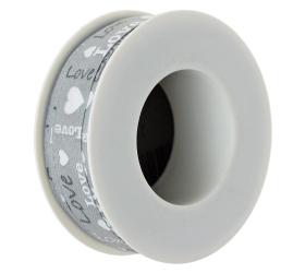 Stuha love sivá 15mmx10m