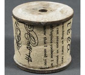 24fl1939 stuha plátno písaná rolka 3m