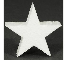 Polystyrén hviezda 10 cm