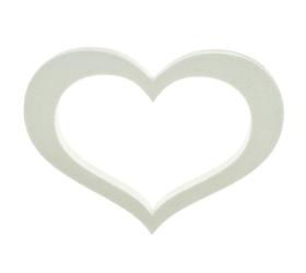 Polyst. srdce obrys 40cm/20/