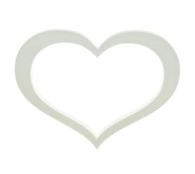 Polystyrén srdce obrys 50 cm