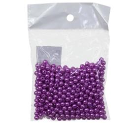 Cm158 6mm korálky 50g fialové