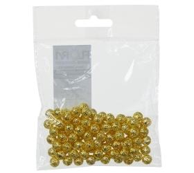 Guličky zlaté s/100 8mm