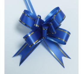 20x Sťahovacie Mini Mašle - Modré