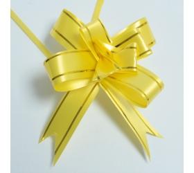 20x Sťahovacie Mini Mašle - Žlté