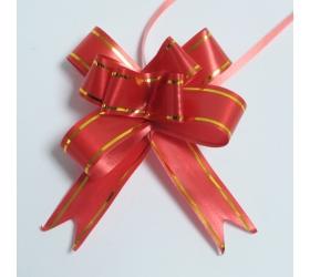 20x Sťahovacie Mini Mašle - Červené