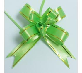 20x Sťahovacie Mini Mašle - Zelené