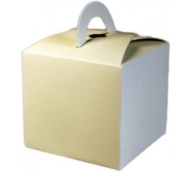 25x Darčekové Mini Krabičky - Slonovinová