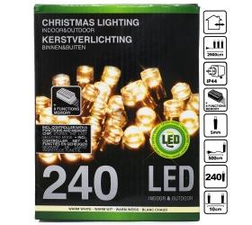 Ax8205540 , xx8750670 led svetielka 240ks žlté +menič