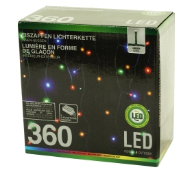 LED svetielka 360 ks + menič