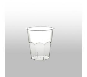 Plastový koktailový pohár - 200ml, transparentný