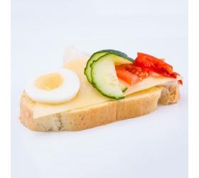 Obložený šunkovo syrový chlebik