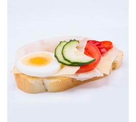 Obložený kurací chlebík
