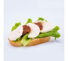 Obložený chlebík zeleninový