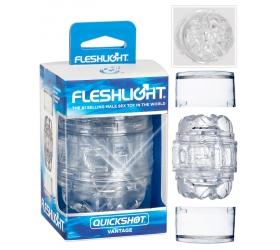 Fleshlight Quickshot Vantage - cestovný masturbátor
