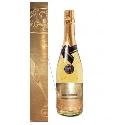 0,75l Gold Cuvee šumivé víno so zlatom Vianočné / novoročné