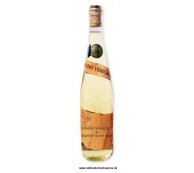 0,75 L Gold Cuvee víno so zlatom Vianočné želanie - Nový rok - drevo