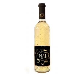 0,75 L Gold Cuvee - Biele so zlatými lupenmi 23 karát Najlepší šéf