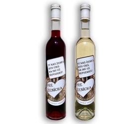 Svadobné darčekové víno - Pre ženícha